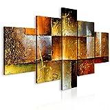 murando handgemalte Bilder 160x93cm Gemälde 5 TLG Gold schwarz rot 92340