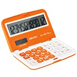 Faltbare Mini-Taschen-Rechner Solar-Taschenrechner Scientific Powered Orange