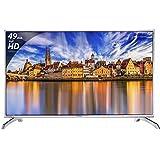 Panasonic 124.5 cm (49 Inches) Full HD LED TV TH-49E460D (Black) (2017 model)