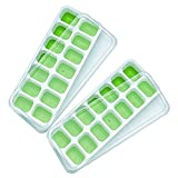 Best Ice Cube Trays With Covers - Pingenaneer 2-Pack Ice Cube Trays, Silicone Ice Trays Review