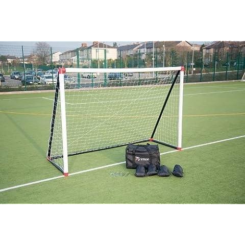 Precision hinchable Futsal Portería Fútbol y Fútbol Deportes completa objetivo 3m x 2m