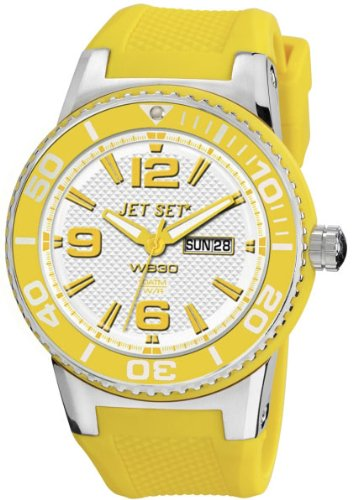 Jet Set Uhr mit japanischen Quarz Bewegung Unisex Unisex J55454-26947mm