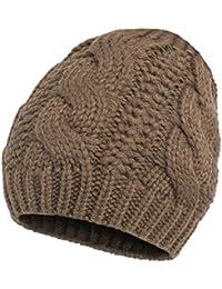 Brubaker Beanie Mütze aus angesagtem stylischem Zopfstrick in 6 tollen Winter Farben