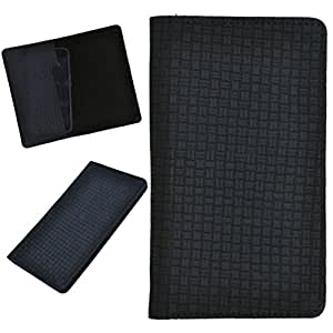 DCR Pu Leather case cover for Lava Xolo A700 (black)