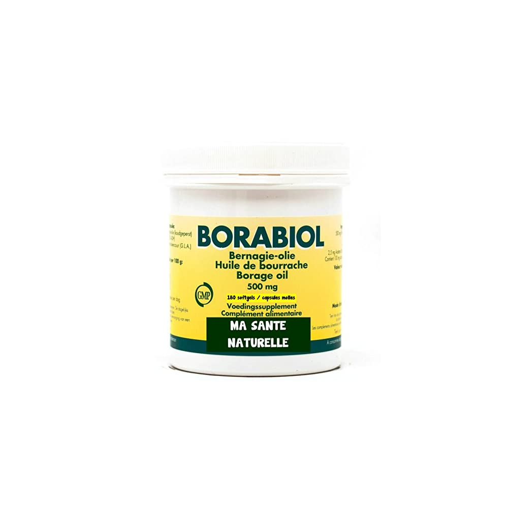 L Fr Borretsch 1ire Kaltgepresst Borabiol 180 Softgelskapseln Molles 500 Mg