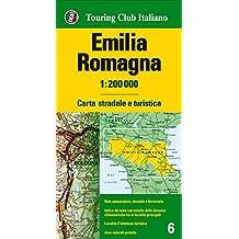 Emilia Romagna 1:200.000. Carta stradale e turistica. Ediz. multilingue