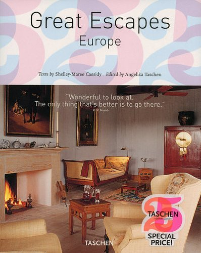 The Hotel Book: Great Escapes Europe (Taschen's 25th Anniversary Special Editions) by Shelley-Maree Cassidy (2009-04-25)