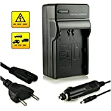 PATONA Chargeur de Batterie EN-EL3e Pour Nikon D70s | D80 | D90 | D50 | D200 | D300 | D700