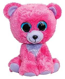 LUMO STARS Bear Raspberry Animales de Juguete Felpa Rosa, Púrpura - Juguetes de Peluche (Animales de Juguete, Rosa, Púrpura, Felpa, 3 año(s), Oso, Niño/niña)