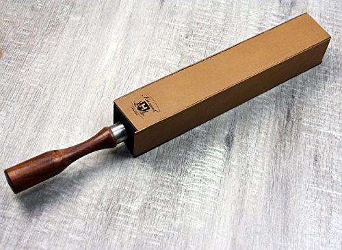 Pure Cow Leather 4 Sided Wooden Handle Strop for Sharping Perfect For All  Kind Of Blades & Razors