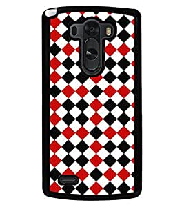 Fuson Premium Lets Play Chess Metal Printed with Hard Plastic Back Case Cover for LG G3