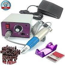 Torno Profesional para Manicura y Pedicura de 30.000 RPM con 100 fresas Nails System Creative Sina MM 25000