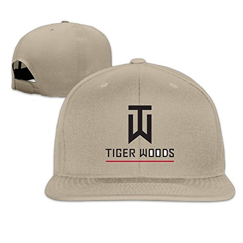 Huseki Tiger Logo Woods Custom Baseball Cap Hip Hop Cap Adjustable Snapback  Flat Bill Ash Natural af04479ceeb