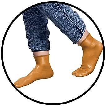 vibhu pharma Men's and Women's Water Proof-Socks (Skin Colour)