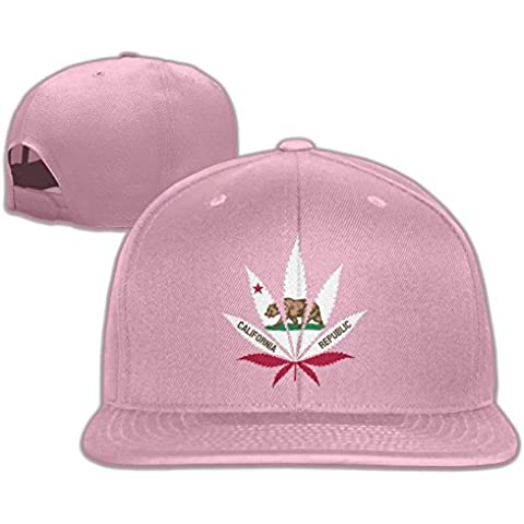 T yuuk California bandera unisex ajustable gorra de béisbol y sombrero para las mujeres & hombres