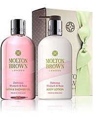 Molton Brown Délicieux Rhubarbe Et Rose Gel Douche Et Lotion Cadeau