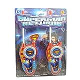 Walkie Talkies For Kids Man of Steel Superman Returns BRAND NEW Toy Walkie Talkie High Quality Walkie Talkie