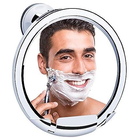KEDSUM Miroir de Rasage Anti-Buée, Miroir Salle de Bain, Miroir