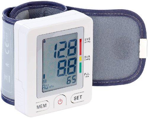 newgen medicals Messgeräte für Blutdruck: Medizinisches Handgelenk-Blutdruckmessgerät (Handgelenkblutdruckmessgerät)