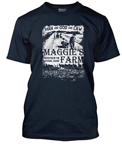Bathroom Wall Bob Dylan Maggies Farm inspired, Men's T-Shirt