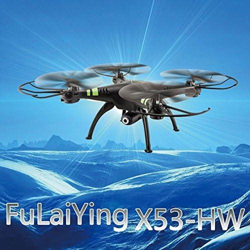 MingXiao MingXiao MingXiao X53 sans Fil 2.4GHz 4Axis Drone Quadricoptère RC 2.0MP HD Caméra Quadricoptère Mode sans Tête Drone | De Nouvelles Variétés Sont Introduites L'une Après L'autre  00a3b3