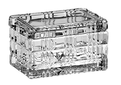 Cut Crystal Candy (Majestic Geschenke Cut Crystal Jewelry/Candy Große Box, 14cm)