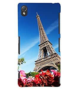 PRINTSWAG TOWER Designer Back Cover Case for SONY XPERIA Z3
