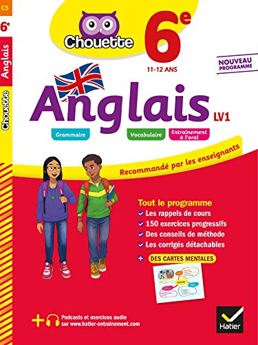 Anglais 6e - LV1 (A1 vers A2): cahier d'entraînement et de révision par Nicole Nemni-Nataf
