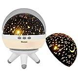 Mucjun 360 Grad Rotierende Romantische LED Sternenhimmel Projektor Lampe Nachtlicht Projektionslampe Dekorative Nachtlicht Projektor für Baby Zimmer, Schlafzimmer, Spielzimmer, Kinderzimmer, Halloween