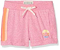 Converse Girl's Sunset Shorts, Pink (Neo Pink Snow Heather), 5-6 Years