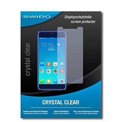 SWIDO Schutzfolie für Hisense A2 Pro [2 Stück] Kristall-Klar, Hoher Härtegrad, Schutz vor Öl, Staub & Kratzer/Glasfolie, Bildschirmschutz, Bildschirmschutzfolie, Panzerglas-Folie