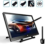 Ugee UG2150 21.5 Inch HD Resolution IPS Graphic Tablet LED Drawing Monitor with 2 Original Rechargeable Pens, 1 Screen Protector and 1 Drawing Glove
