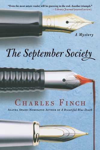 The September Society (Charles Lenox Mysteries)