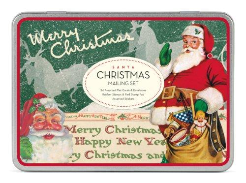 Santa Claus Mailing Set -