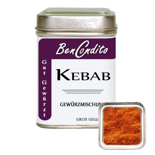 Kebab oder Döner Gewürz - Türkische Gewürzmischung | BenCondito | 80 Gramm Aromabeutel (Gramm-türkisch)