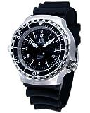 """Military Taucher Uhr """"Automatik Werk"""" Saphir Glas - verschraubte Krone T251"""