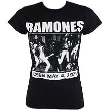 Damen T-Shirt Ramones - CBGBS 1978 - ROCK OFF - RATS22LB