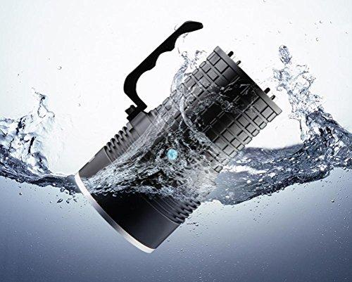Preisvergleich Produktbild GJY LED TASCHENLAMPEScheinwerfer-Aufladung Xenon-Lampe 1000 Weitreichende Ultra-Helle Fernbedienung Hause Wasserdichte Taschenlampe