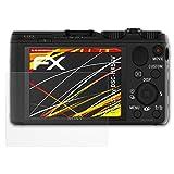 atFoliX Folie für Sony DSC-HX50V Displayschutzfolie - 3 x FX-Antireflex-HD hochauflösende entspiegelnde Schutzfolie