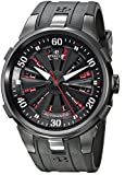 Perrelet Men's A4054/1 Turbine XL Analog Display Swiss Automatic Black Watch