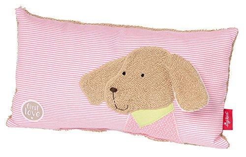 sigikid, Mädchen, Schmuse-Kissen Hund, Die rosa Fine, Beige/Rosa, 38789
