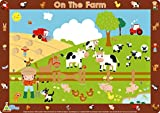 Little Wigwam - Auf Dem Bauernhof Platzdeckchen Platzset Tischset Für Kinder (Englisch)
