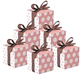50 Stück Süße Geschenkboxen Gastgeschenk für Hochzeit Taufe Geburt