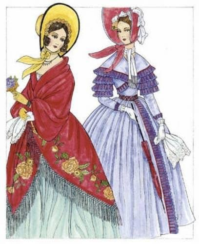 Godey's Fashions (Dover Fashion Coloring Book)