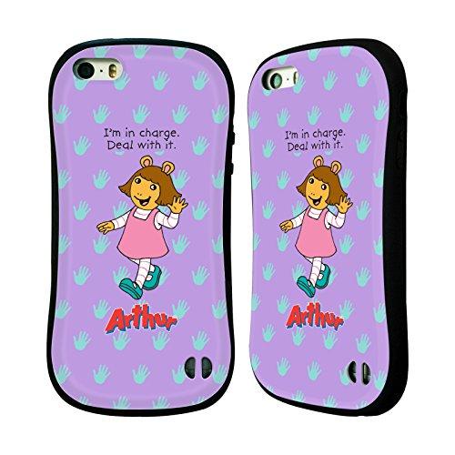 Ufficiale Arthur Lifes A Beach Personaggi Case Ibrida per Apple iPhone 6 Plus / 6s Plus DW Onda