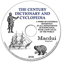 The Century dictionary and cyclopedia – 12 Vintage e-Books PDF on 1 DATA DVD, Old books on disc
