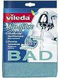 Vileda 141430 Microfaser Badschwamm - extra saugfähig ideal für die Badreinigung - 1 Stück