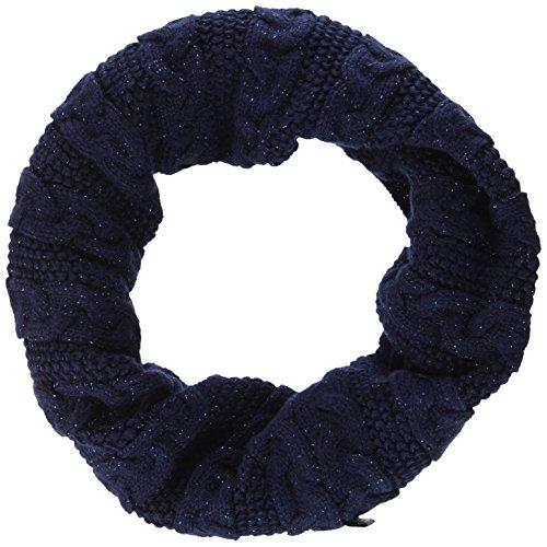maximo Mädchen Tube mit Lurex Halstuch, Blau (Navy 48), One size (Herstellergröße: 1sz.) Lurex Tube