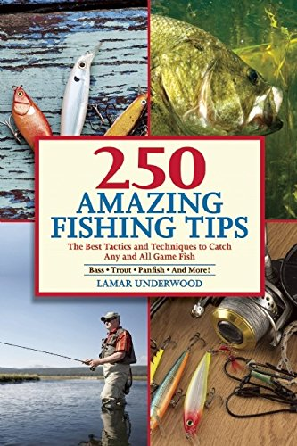 250 Amazing Fishing Tips: The Best Tactics and Techniques to Catch Any and All Game Fish (Fishing Chub Lures Creek)
