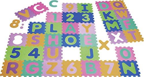 Playshoes Puzzlematten, Puzzleteppich, Bodenpuzzle